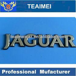 Jaguar car letter chrome emblem auto badge sticker