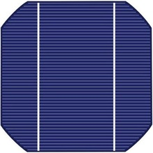 125 x 125mm Mono Solar Cells Diagonal-165