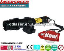 Subzero tattico lunga distanza 50mw verde designatore laser/emergenza occhi accecante