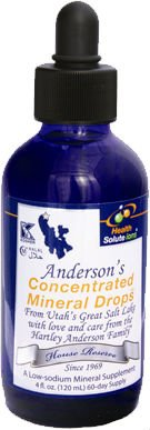 Anderson's Concentrated Mineral Drops (CMD)