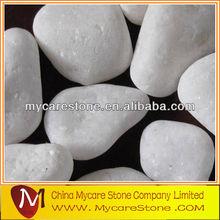 Pearl white garden pebbles for sale