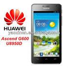 Huawei U8950D Qualcomm MSM8225 Dual-Core 4.5inch QHD IPS Screen 768MB RAM 4GB 3G Smart Phone