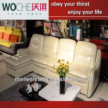 2013 hot popular furniture top three modern design sofa set, indian wooden sofa design wholesale italian furniture WQ6908