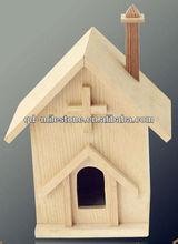 Fancy wooden bird cage