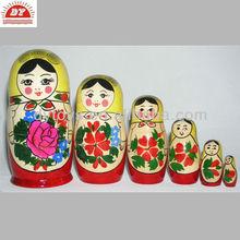 plastic Russia nesting dolls