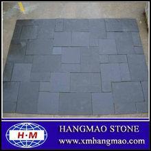 Cheap black flooring limestone for exterior decoration