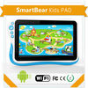 7'' popular multi language android pad for kids with CE FCC ROHS certificates