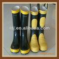 boa qualidade de trabalho botas de bombeiro botas de borracha