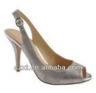 Low price high heel peep toes women sandal shoes