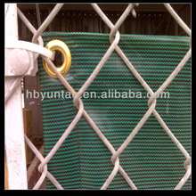 high quality HDPE chain link fence fabric