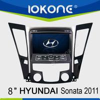 Double din 8'' HD Touch screen Car DVD player for Hyundai Sonata/I40/I45/I50