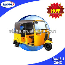 Bajaj Three Wheel Tricycle, Passenger Bajaj tricycle, 3W4S Tuktuk Spare Parts