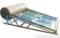 color steel non pressurized solar water heater