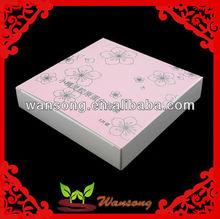 custom flower paper box