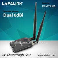 LAFALINK ralink rt3070 1500mw wifi usb wireless adapter