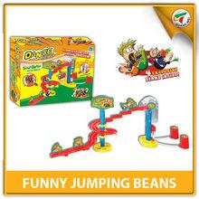 Diy educação jogo magia trilha de feijão de salto poderoso Beanz para crianças ICTI fábrica