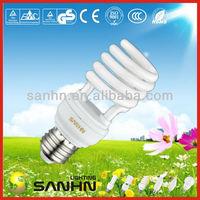 SANHN T2 Half spiral 15W CFL Lamp