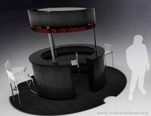 360 degree LED kiosk