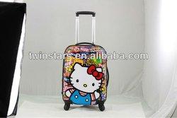 fashion colorful 20 inch cartoon luggage