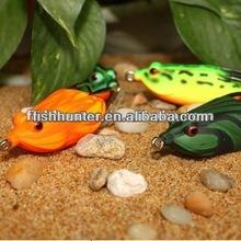 60mm 14g chinese plastic frog fishing