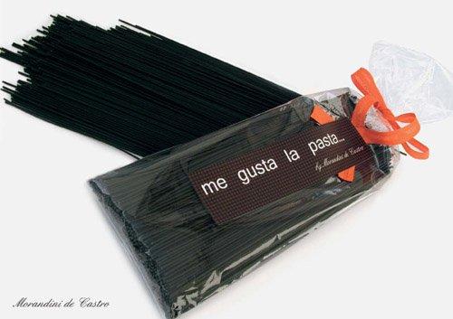 Black Sepia Spaghetti