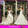 BW034 Fashion Elegant Strapless Sweatheart Ruched Bodice Taffeta Wedding Dress custom made wedding dresses