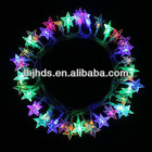 45L battery operated led fairy lights of colorful stars