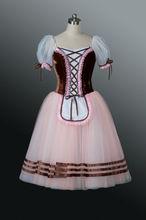 Mb0895!! Nuevo!! Caliente la venta de niñas campiña vestido ballet/leotardo suave con tutu vestido de adultos