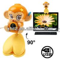 Monkey USB 2.0 Mega Pixels Driverless PC Camera / Webcam