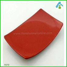 rectangular plastic dish , hors-d'oeuvre plate