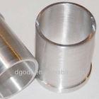 custom stainless steel shaft protecting sleeve