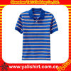 2013 breathable high quality stripe short sleeve cotton men custom private label polo shirts