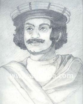 Raja Ram Mohan Roy Sketch
