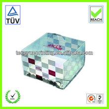 plastic cupcake packaging/pp cupcake box/cakes box