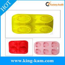 hot selling various animal shape silicone cake/chocolate mold