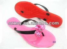 hot hot hot crystal summer beach lady red wedding flip flops