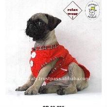 Shnou Sii SB 09-205 QTee Red Dog Plain T-Shirts