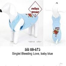 Shnou Sii SB 09-673 Cotton Baby Blue Pet Dog Costume
