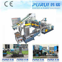 waste film/bags recycling pellet making machinery