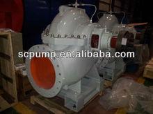 High capacity horizontal centrifugal water pump