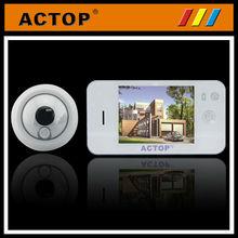 digital video door viewer for home