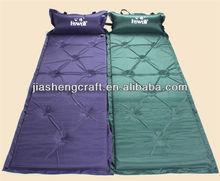 Outside Inflatable Sleeping Beach Mat With Pillow,Pop Up Beach Mat