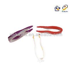 pc-866-1 pink tweezers len tweezers red and purpose