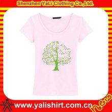 Twill beautiful ladies' seamless t-shirt