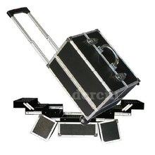 Aluminum Dog Pet Grooming Tool Trolley Case Box
