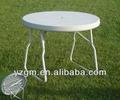 2013 quente vender moderna e barata de jardim dobrável mesa feita fabricante