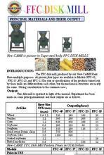 Ffc Disk Mill, Mini Flour Mill, Griender