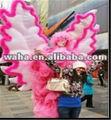 Atractiva decoración etapa/traje de rendimiento/inflable de la mariposa