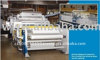 Used Tents Material Making Zimmer PVC Plastic Coating Machine