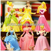 lovely&beautiful cartoon vinyl girls figure